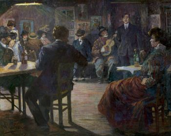 Café chantant by Richard Bloos