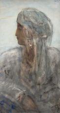 Oriental Lady by Marius Bauer