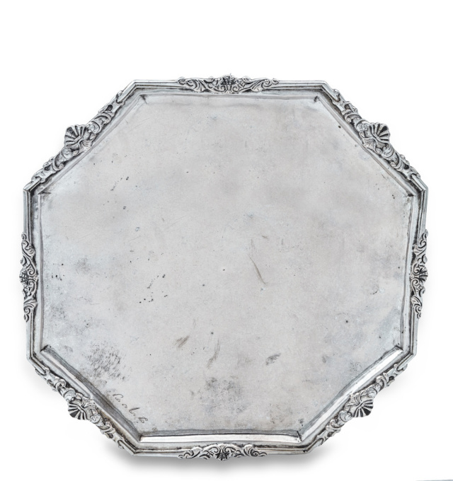 AN INDONESIAN SILVER COMMEMORATIVE SALVER, 'GEDACHTENISBORD', COMMEMORATING HERMANUS STELLINGSWERFF by Unknown Artist