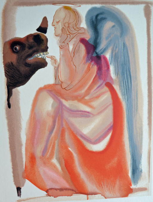 Divina commedia paradiso 06 by Salvador Dali