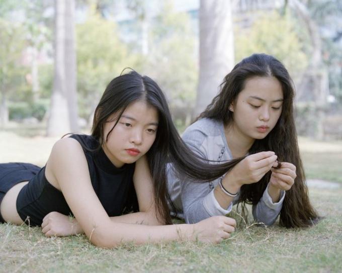 Yafang and Linli, Xiamen by Sarah Mei Herman