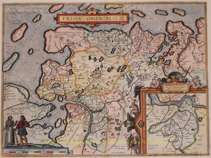East-Friesland by Abraham Ortelius
