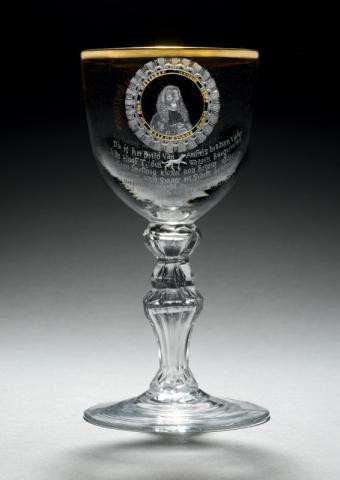 Glass honouring Hendrik Hooft, Mair of Amsterdam by Unknown Artist