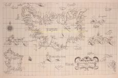 Iceland, Frisland, Faroe Islands  by  Robert Dudley