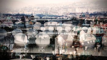 The Bridges in Prague by Jack Marijnissen