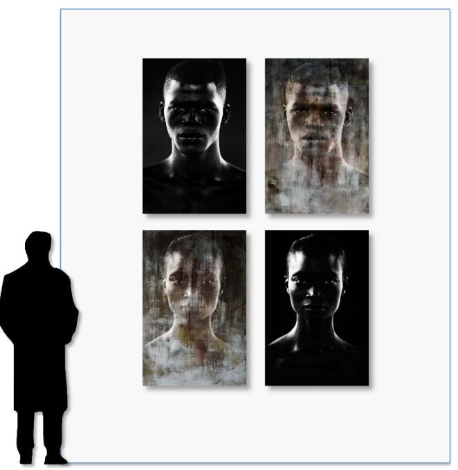 I am a Man (color) by Micky Hoogendijk