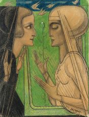 The eternal song of spring by Jan Toorop