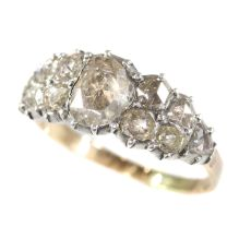 Very early Victorian diamond ring by Unknown Artist