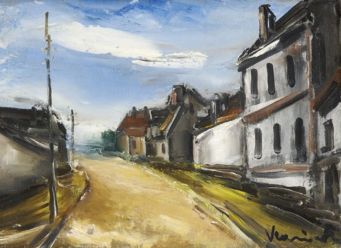Village View by Maurice de Vlaminck