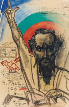 Paulus, the Communist the Above Natural by Jan Toorop