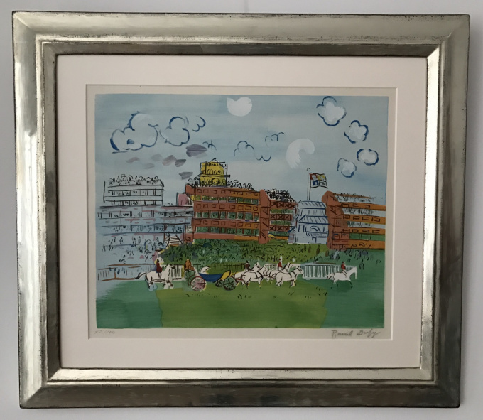 Track at Ascot by Raoul Dufy