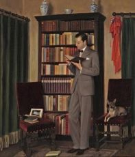 Karel in zijn studio in Den Haag by Lodewijk Bruckman