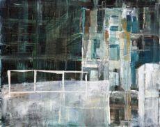 Witte Muur by Ineke Hofste