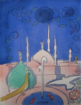 Arabian Nights no 5 by Kees van Dongen