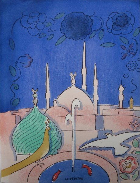 Arabian Nights no 5 by Kees van Dongen