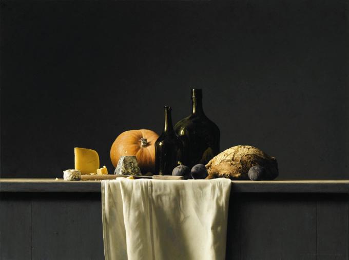 Bread and Cheese by Bernard Verkaaik