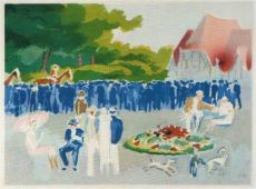 Grand Prix of Normandy by Kees van Dongen