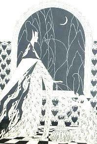Bij maanlicht by Lodewijk Bruckman