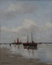Ships on the beach
