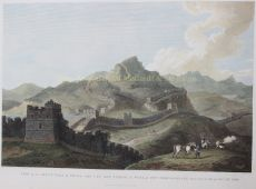 View of the Great Wall of China by Alexander, William (1767-1816)