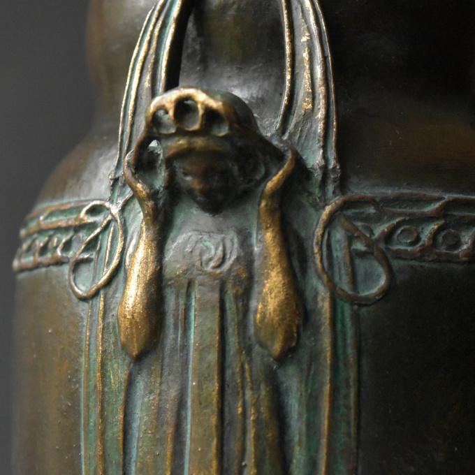 Sezessionist vase by Hugo Elmqvist