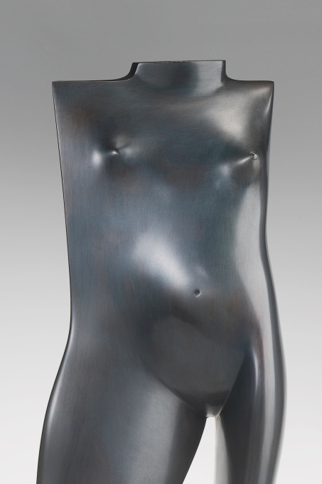Torse Debout De Jeune Femme - Bronze Sculpture - In Stock by Kobe .