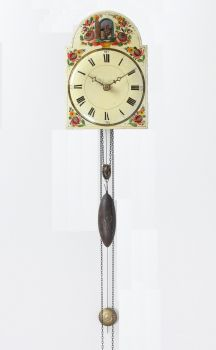 An early German Black Forest Cuckoo wall clock, circa 1830 by Unknown Artist