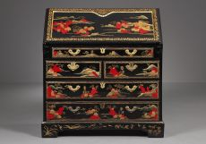 Chinese Laquered Writing Desk made for the European Market