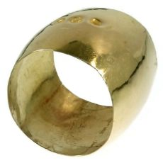 Rare extra wide antique wedding band from the Southern Netherlands - Zeeland by Unknown Artist