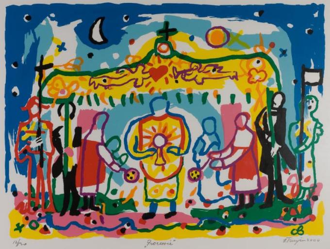 'Processie' by Hans Truijen