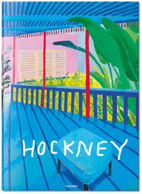 David Hockney. A bigger book by David Hockney