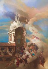 Fuga degli Affreschi da Ignatio by Giovanni Tommasi Ferroni