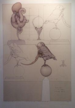 Moonbird  by Michael Parkes