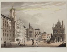 19TH CENTURY VIEW OF AMSTERDAM by Bowyer, Robert