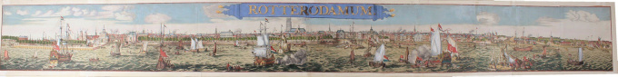 Panorama of Rotterdam by Romeyn de Hooghe
