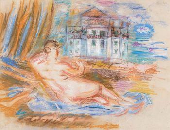 Nu à la Renoir, ca. 1930 by Raoul Dufy
