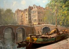 View of the canals by Jan Korthals