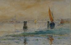 View on Venice by Carel Nicolaas Storm van 's Gravesande