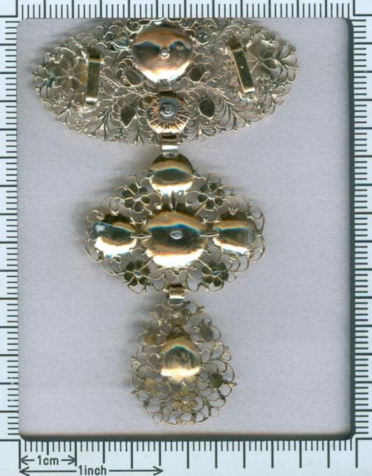 18th Century diamond cross, Jeannette pendant by Unknown Artist