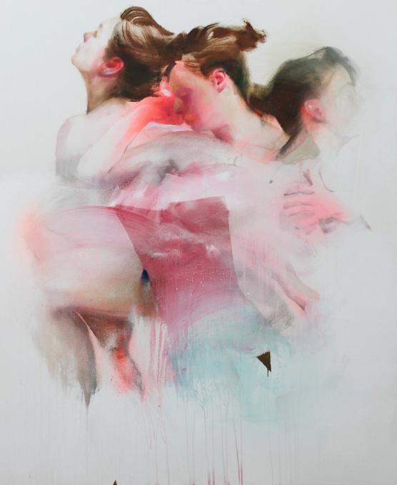 Untitled 2 - Oil on Canvas - In Stock by Nikolas Antoniou