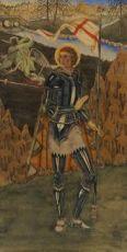 St. Joris en de verslagen draak by Lodewijk Bruckman
