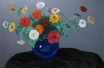 Flower still life by Dirk Smorenberg