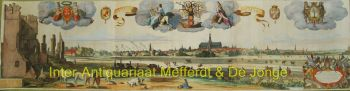 Haarlem panorama naar Pieter de Molijn by Reinier en Joshua Ottens