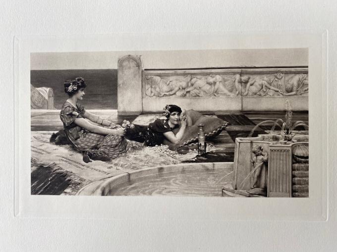 Love in Idleness  by Lawrence Alma-Tadema