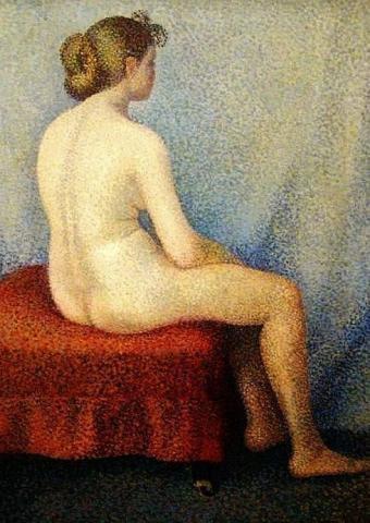 Jeune fille  by Yvonne Serruys