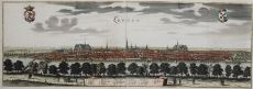 Leyden - View at the city of Leiden ca 1650