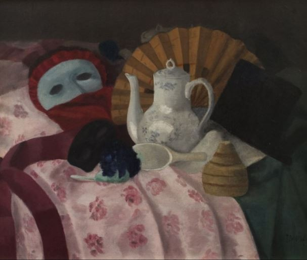 Still Life with Mask by Lizzy Ansingh