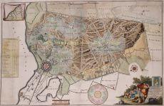 FAMOUS MAP OF HET GOOI/ oude kaart van het gooi  by Ottens, Reinier and Joshua