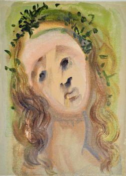 Divina commedia purgatorio 10 by Salvador Dali