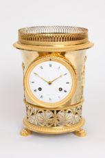 A French Empire ormolu urn mantel clock Angevin A Paris, circa 1810 by Angevin A Paris